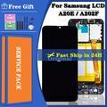 Écran tactile LCD avec châssis, 5.8 pouces, pour Samsung Galaxy A20E A202DS A202F/DS A202, Original