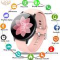 LIGE – montre connectée sportive pour femmes et hommes, avec Bluetooth, moniteur de santé et