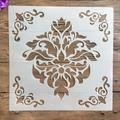 Pochoirs Mandala géométrie, 30x30cm, bricolage, couches, peinture murale, Scrapbook, coloration,