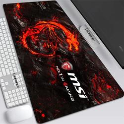 MSI – grand tapis de souris Anime XXL, accessoire de jeu pour PC Gamer, clavier, ordinateur