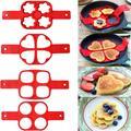 Moules à Omelette en Silicone, 1 pièce, antiadhésif, fantastique, pour la cuisson des crêpes aux