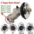 Pièces de tondeuse à gazon de rechange, 26mm /28 mm, boîte de vitesse, brosse à gazon, remplacement