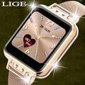 LIGE – montre connectée pour femmes, moniteur de fréquence cardiaque, de Cycle menstruel,