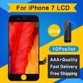 Écran tactile LCD de rechange pour iPhone 7, sans pixel mort, livraison gratuite via DHL, 10 pièces,