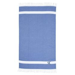 Highland Dunes Fortin Pestemal Turkish Cotton Beach Towel 100% Cotton in Blue | Wayfair AC1C048048464B0AACED19071D3C9A7E