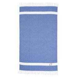 Highland Dunes Fortin Pestemal Turkish Cotton Beach Towel 100% Cotton in Gray/Blue   Wayfair A04179A68A454FDDBD62E5B8B5915344