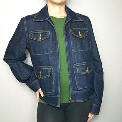 Ralph Lauren Jackets & Coats | Lauren Jean'S Co. Retro Denim Jean Jacket | Color: Blue | Size: L