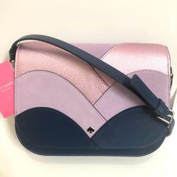 Kate Spade Bags | Kate Spade Med Flap Shoulder Bag Nadine Patchwork | Color: Blue/Purple | Size: Os