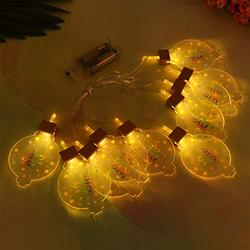 Mobestech Ramadan Lantern String Light Battery Powered Kerosene String Light Ramadan Fairy Light LED String Light for Ramadan Eid Mubarak Decoration, 1Pcs