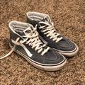 Vans Shoes | Greyblue High Top Vans | Color: Blue/Gray | Size: 9