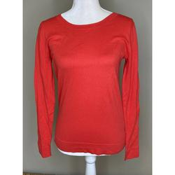 J. Crew Sweaters   Nwt J. Crew Round Neck Pullover Sweater Xs   Color: Red   Size: Xs