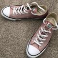Converse Shoes | Converse Chuck Taylor All Star Metallic Sneaker | Color: Pink/Silver | Size: 10