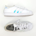 Adidas Shoes   Adidas Men'S Superstar Iridescent Tennis Shoes 6   Color: White   Size: 6