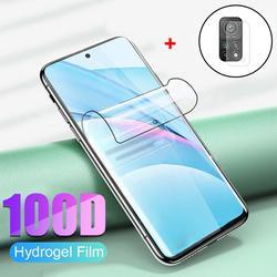 xiaomi 11 t pro 5g film hydrogel+camera glass mi 11lite xiaomi 11 lite 5g ne 11t vitre protection