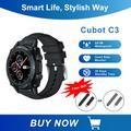 Cubot C3 Montre Connectée Femmes Homme Smartwatch Montre Sport Podometre Cardiofrequencemètre