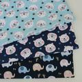 100% coton tissu enfants coton Patchwork tissu bricolage couture Quilting gros quarts matériel pour