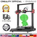 CREALITY 3D – nivellement automatique Pro V2, imprimante tactile LCD, Double Extrusion, reprise
