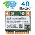 Double bande 2.4 + 5G 300M 802.11a/b/g/n WiFi Bluetooth 4.0 sans fil demi-carte PCI-E pour