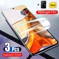film hydrogel Xiaomi 11T Pro Mi 10 T vitre protection ecran Xiomi Mi 11 Pro verre trempé souple mi