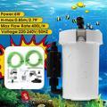 Réservoir de poissons de Table 220-240V 6W 400l/h, système de Filtration externe Ultra-silencieux