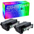 2-Pack (Black) Compatible High Yield 402809/406997 Imaging Toner Cartridge use for Ricoh Aficio SP 4110N SP 4110SF SP 4210N SP 4100N SP 4100 SP 4100SF SP 4100N-KP SP 4310 SP 4310N P7031N Printer