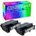 2-Pack (Black) Compatible High Yield 402809/406997 Toner Cartridge Use for Ricoh Aficio SP 4110N SP 4110SF SP 4210N SP 4100N SP 4100 SP 4100SF SP 4100N-KP SP 4310 SP 4310N P7031N Printer