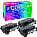3-Pack (Black) Compatible High Yield 402809/406997 Laser Printer Toner Cartridge use for Ricoh Aficio SP 4110N SP 4110SF SP 4210N SP 4100N SP 4100 SP 4100SF SP 4100N-KP SP 4310 SP 4310N P7031N Printer