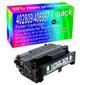 1-Pack (Black) Compatible High Yield 402809/406997 Laser Printer Toner Cartridge Use for Ricoh Aficio SP 4110N SP 4110SF SP 4210N SP 4100N SP 4100 SP 4100SF SP 4100N-KP SP 4310 SP 4310N P7031N Printer
