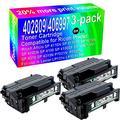3-Pack (Black) Compatible High Yield 402809/406997 Toner Cartridge use for Ricoh M118dw Aficio SP 4110N SP 4110SF SP 4210N SP 4100N SP 4100 SP 4100SF SP 4100N-KP SP 4310 SP 4310N P7031N Printer