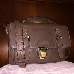 Kate Spade Bags   Kate Spade Messenger Bag   Color: Brown/Tan   Size: 7 H X 10 W X 2 D
