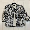 Lularoe Jackets & Coats | Faux Fur Jacket By Lularoe | Color: Black/White | Size: Xs