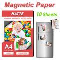 UniPlus 10 feuilles A4 papier Photo magnétique adhésif mat imprimante papier papier magnétique