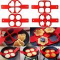 Moules à omelette en Silicone, antiadhésif, pour la cuisson des crêpes et des œufs