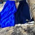 Adidas Bottoms | Boys Basketball Basketball Shorts | Color: Blue/White | Size: 10b