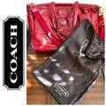 Coach Bags | Coach Patent Leather Multifunction Tote Bag | Color: Red | Size: Os