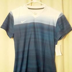 Nike Shirts & Tops   Boys Youth Unisex Nike Stiker Iv Soccer Jersey   Color: Blue/White   Size: Boys Youth Unisex Medium
