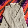 The North Face Jackets & Coats   Full Zip Quilted Jacket   Color: Cream/Gray   Size: L