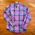 J. Crew Shirts   Mens J.Crew Tartan Casual Button Down   Color: Blue/Red   Size: S