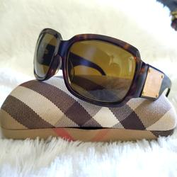 Burberry Accessories   Burberry 4034 Brown Tortoise & Gold Sunglasses   Color: Brown/Gold   Size: Os