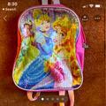 Disney Accessories | Disney Princess Toddler Backpack | Color: Black | Size: Osg