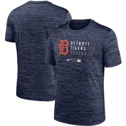 """""""Men's Nike Heathered Navy Detroit Tigers Authentic Collection Velocity Practice Performance T-Shirt"""""""