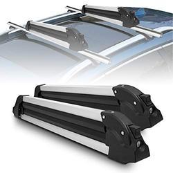 "YITAMOTOR Ski Carrier Snowboard Rack, 27"" Universal Aluminum Ski Snowboard Rack for Ski & Snowboard Carrying"