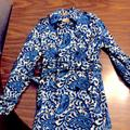 Michael Kors Jackets & Coats | Michael Kors Lined Trench Coat - Never Worn! | Color: Blue | Size: Xs