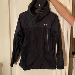 Under Armour Jackets & Coats | Black Under Armour Rain Wind Jacket | Color: Black | Size: S
