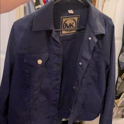 Michael Kors Jackets & Coats | Michael Kors Jean Jacket | Color: Blue | Size: 12
