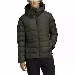 Adidas Jackets & Coats | Adidas Urban Jacket C.R. Mens Downfill Jacket Sz S | Color: Black/Green | Size: S
