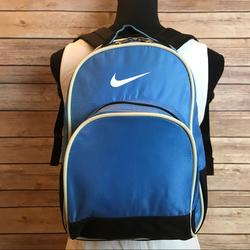 Nike Bags | Nike Blue & Black Small Backpack | Color: Black/Blue | Size: Os