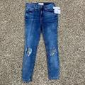 Free People Jeans | Free People Buster Knee Skinny Jeans Size 26 Women | Color: Blue | Size: 26