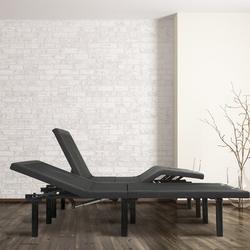 "Blissful Nights 14"" Massaging Zero Gravity Adjustable Bed w/ Wireless Remote, Size 59.0 W x 79.0 D in | Wayfair WFKDG-EKS"