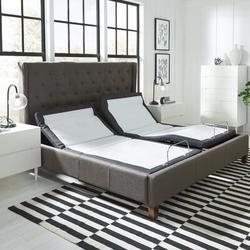 "Blissful Nights Bnkdt 14"" Massaging Zero Gravity Adjustable Bed w/ Wireless Remote, Size 14.0 H x 71.0 W x 83.0 D in | Wayfair WFKDT-CKS"